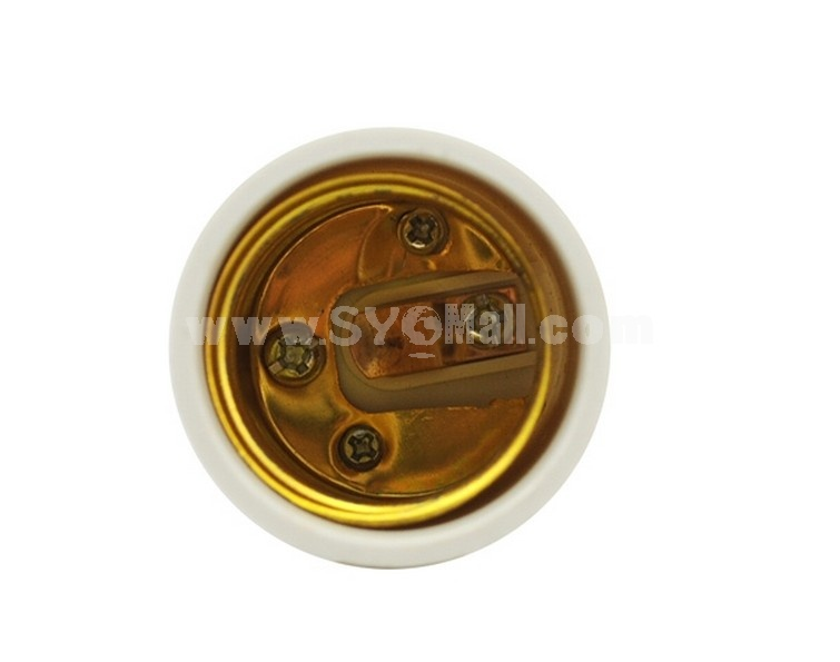 GU10 to E27 LED CFL Light Lamp Bulbs Adapter Converter