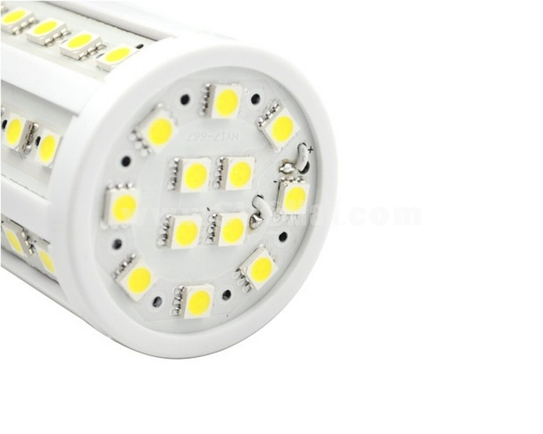 E27 11W 110-220V 60 5050 SMD LED 500LM 5500-6500K White Light Energy Saving Lamp