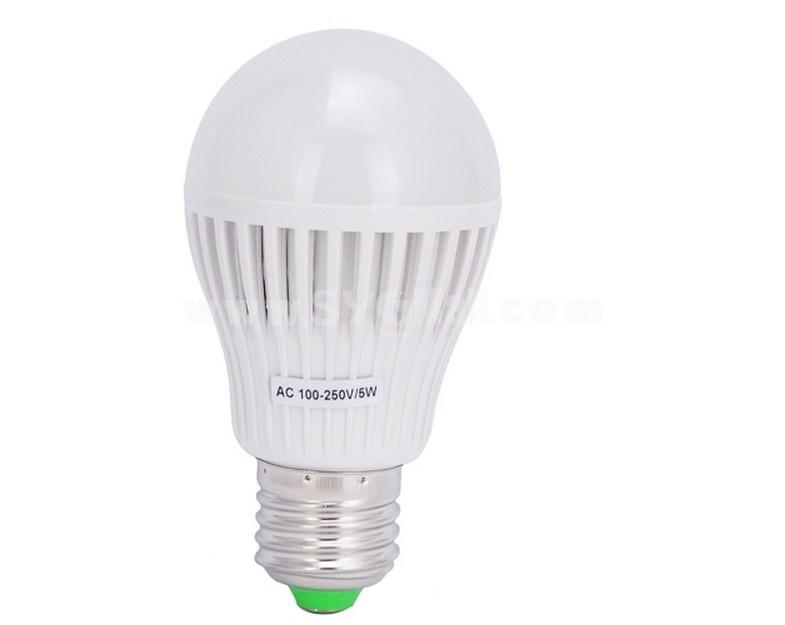 AF055 E27 AC100-250V 550LM 5W 2835SMD LED Bulb LED Light - White Light