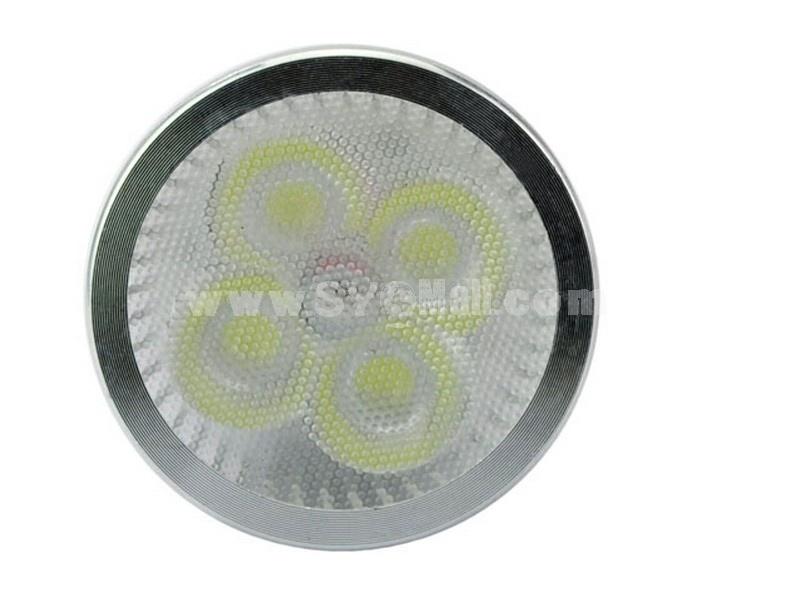 GU10 85-265V 4W White Light 6000-6500K Energy Saving LED Bulb