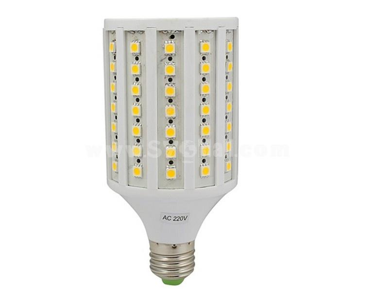 E27 15W 220V 360 Degree 86 LED Warm White 5050 LED SMD Light Bulb