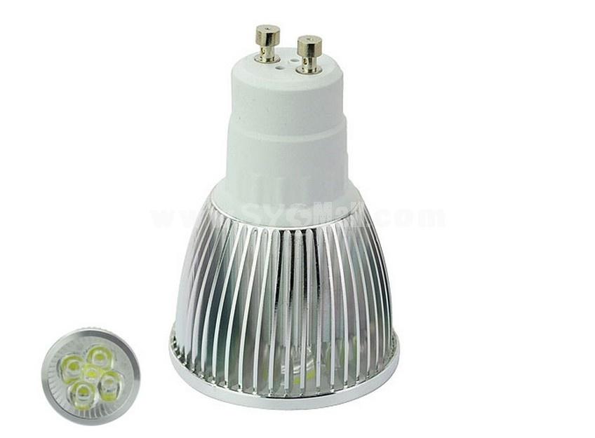 GU10 85-265V 5W White Light 6000-6500K Energy Saving LED Bulb