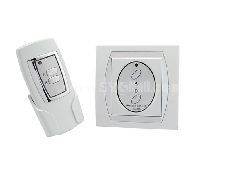 2 Port Wireless Digital Appliance Remote Control Switch