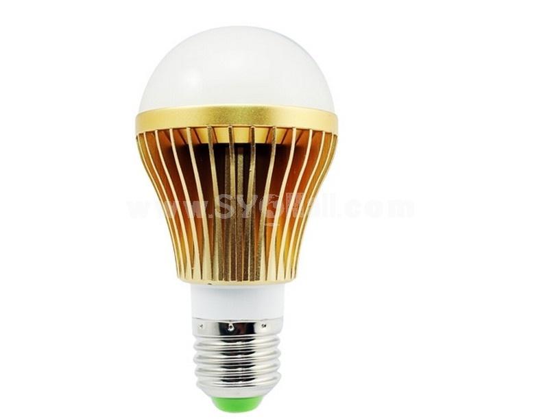 CQ-LV8003CA E27 5W AC85-265V 5LED 450-500 LM 6500-7000K White Light Energy Saving LED Bulb