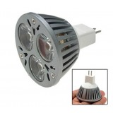 Wholesale - 12V 3W MR16 High Power White LED Spotlight Light Bulb