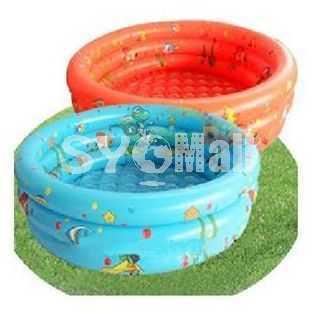 Children Kids Garden Yard Double-Deck Inflatable Swimming Pool