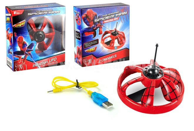 UFO Mini Infrared Control Gyro RC Remote Control 2ch UFO Toy