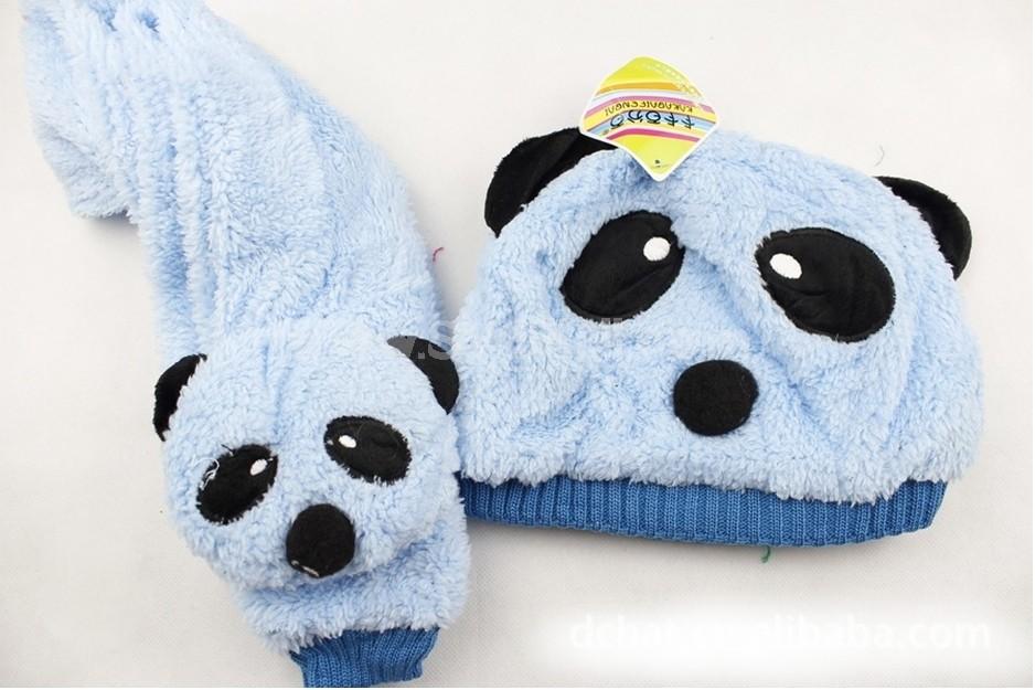 DCH Children Panda Cartoon Hats