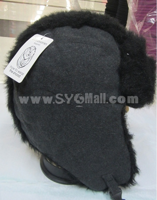 Outdoor Fashion Ear Protection Cold-proof Wind Snow Hat