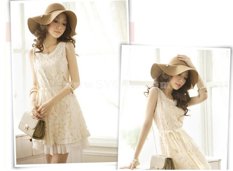 Fashion Brim Width Wool Caps
