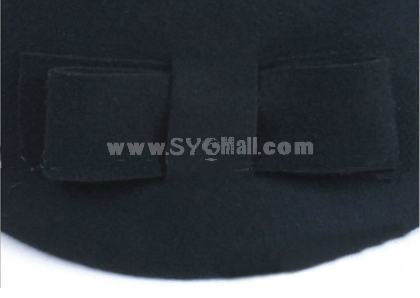 Small Bow Tie Bowler Hat
