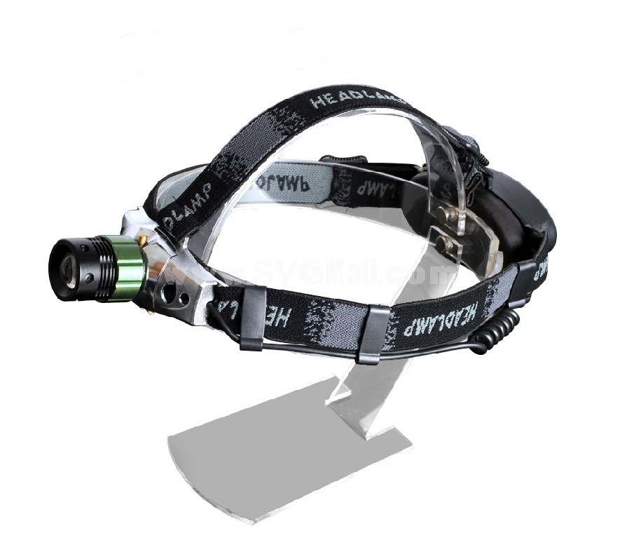 QIANGSHENG hard light outdoor machinery rotation waterproof head lamp