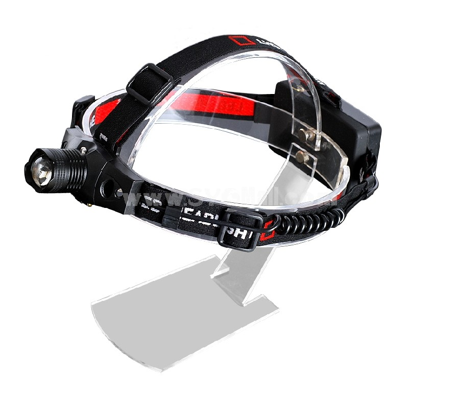 QIANGSHENG LED light zoom rechargeable outdoor head lamp