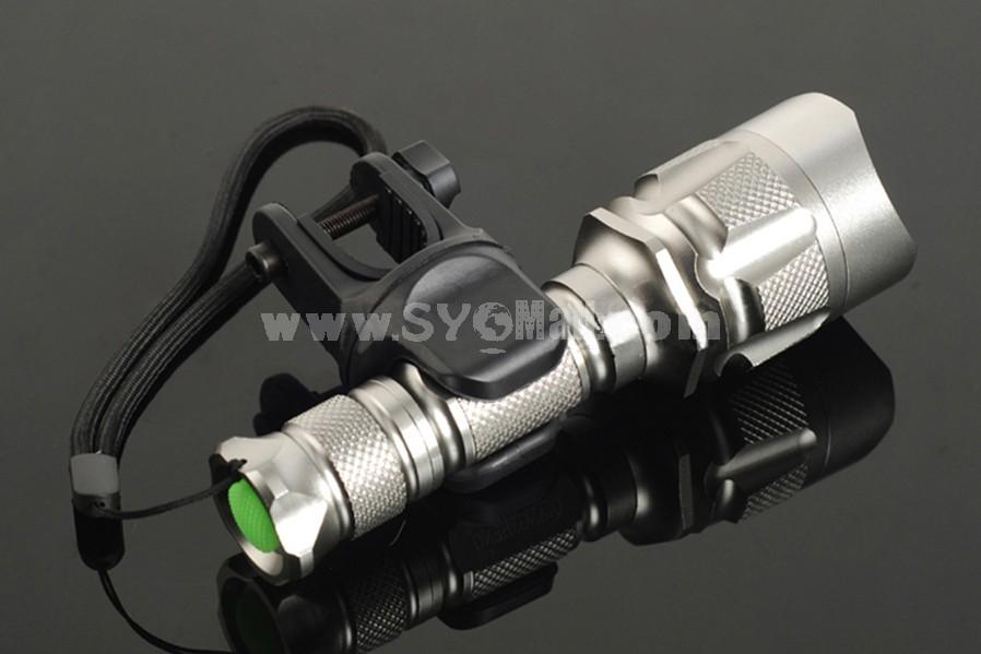 QIANGSHENG 360°flashlight mount for bike 8098