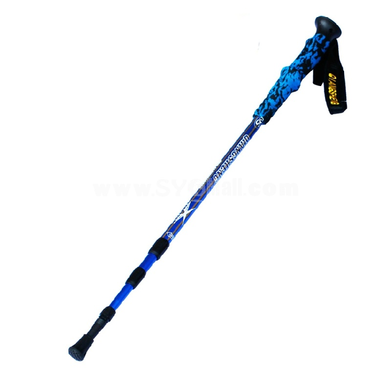 QIANGSHENG EVA aluminium alloy hiking pole DS-42-3
