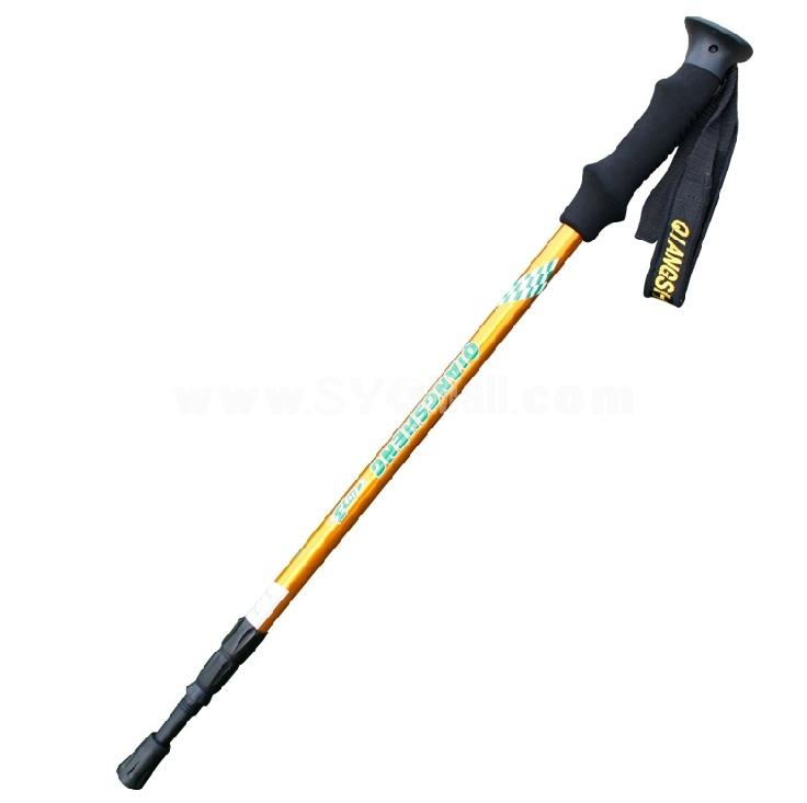 QIANGSHENG light weight aluminium alloy hiking pole DS02-03