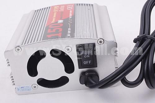 150W DC12V AC 110V Power CAR INVERTER Converter Adapter