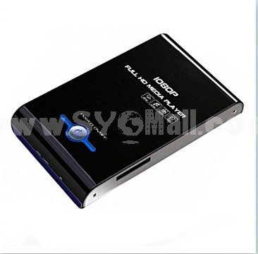 "Powerful HD Media Player for 2.5"" hard drive enclosure external box"