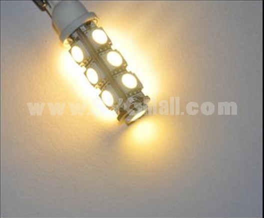 2 x T10 194 168 Car 5050-SMD 13 LED Parking Tail Warm White Lights Lamps Bulbs
