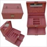 Wholesale - GUANYA Stylish Flannelette Single-layed Jewel Box (634-A8)