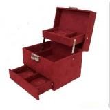 Wholesale - GUANYA Stylish Flannelette Multilayer Jewel Box (P22-A8)