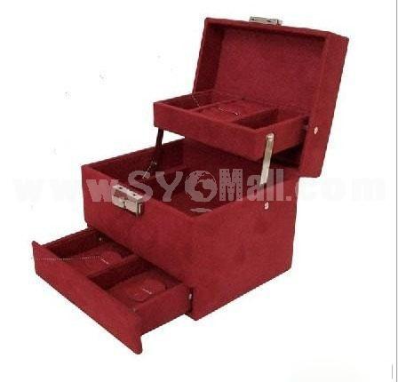 GUANYA Stylish Flannelette Multilayer Jewel Box (P22-A8)