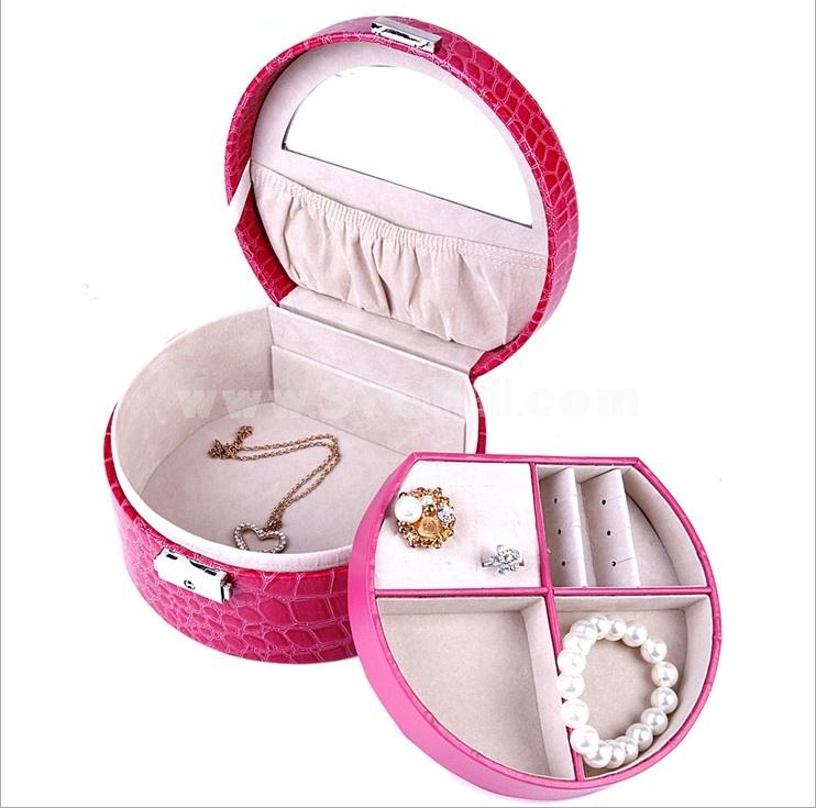 GUANYA Crocodile Leather Jewel Box (645-59)