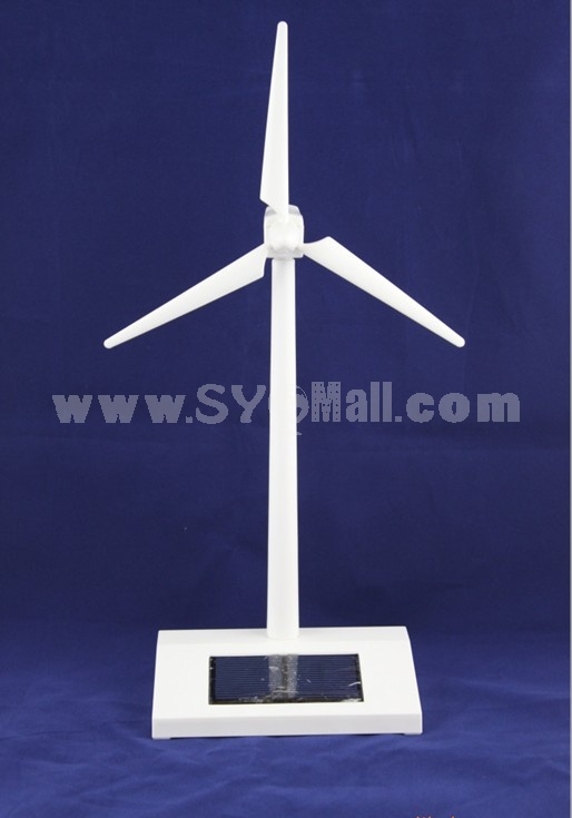Solar Power Windmill Model