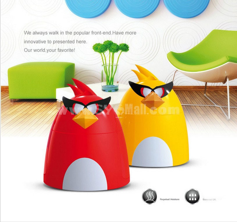 Angry Birds USB Mini Ultra Silent Atomizing Humidifier