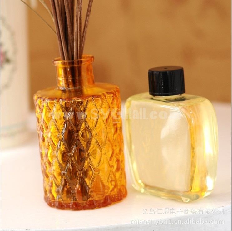 Home Air Freshener Aromatherapy Essential Oil and Glass Bottle Set -2J316
