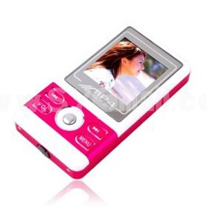 Red 2GB 1.5 Inch TFT LCD Screen MP3 MP4 Player