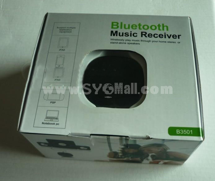 Wireless Bluetooth Receiver Adapter for iphone3GS iphone3G ipod touch2 (B3501)