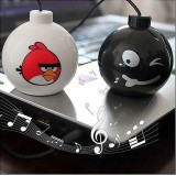 Wholesale - Portable Angry Bird Mini Bomb Speaker