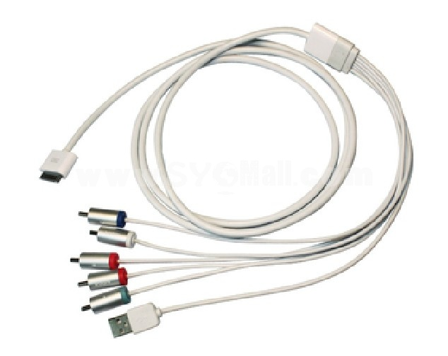 ipad 2 iphone4 3GS Touch 4 to Ypbpr Cable