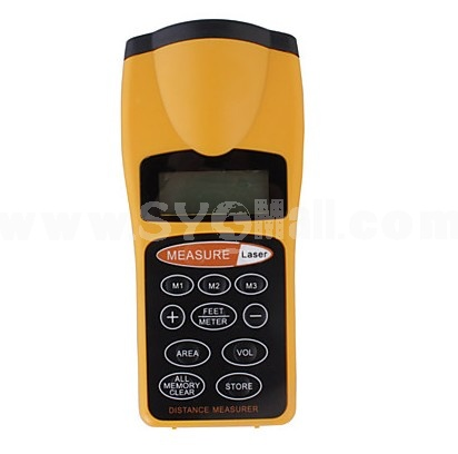 60ft Ultrasonic Tape Measure With Laser Pointer (CF 3007)