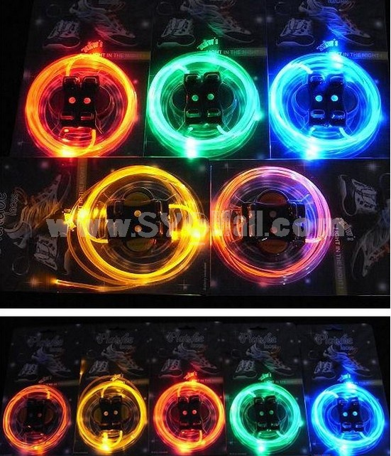 LED Shining Environmental Stylish Shoelace
