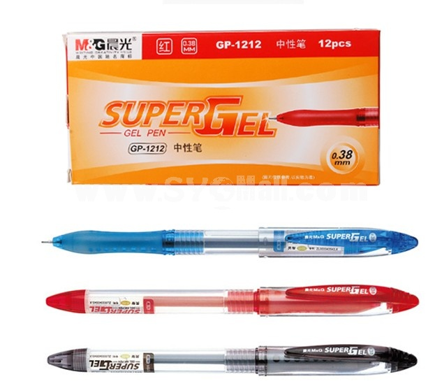 M&G 0.38mm Office GP1212 Neutral Pens