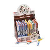Wholesale - M&G 0.5mm Multi-Colored Retractable MF1006 Ballpoint Pens (36 Pack)