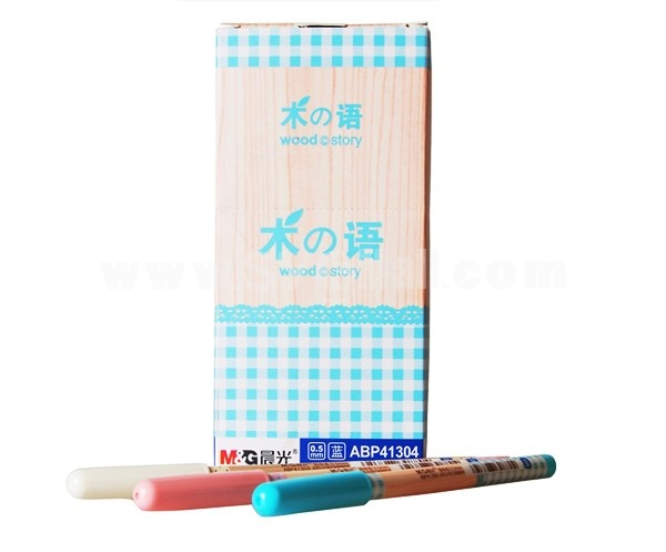 M&G 0.5mm Office & School Things Ballpoint Pen ABP41304