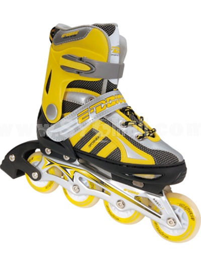 Aluminum Adjustable Flashing Inline Roller Skate (ED1508)