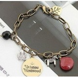 Wholesale - Faddish Crown Leaf Rough Penants Bracelet (TB299)