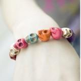 Wholesale - Faddish Colour Skull Bracelet (TB477)