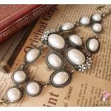 Wholesale - Luxurious Vintage Flora Pearl Bracelet (T0106)