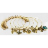 Wholesale - Vintage Multielement Multilayed Personalized Faddish Bracelet (TB147)