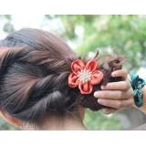 Wholesale - TA60 Women's Flower Hair Tie