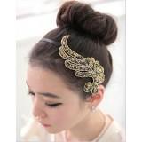 Wholesale - TK135 Women's Gorgeous Crystal Leaf-shaped Headband