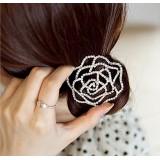 Wholesale - TK038 Women's Rose Design Hair Tie