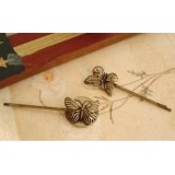 Wholesale - TB12 Vintage Style Butterfly Design Hairpin