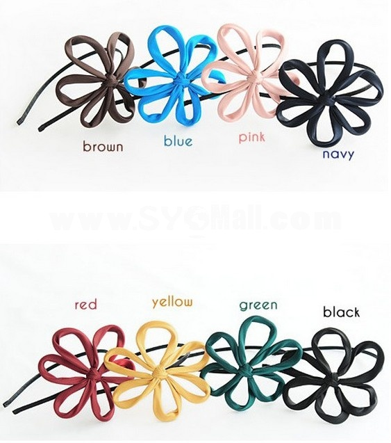 TB29 Korean Style Flower Design Headband