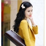 Wholesale - TV058 Korean Style Butterfly Design Beaded Hair Clip/ Barrette